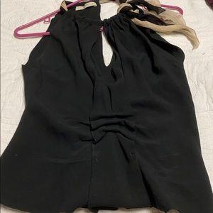 Gorgeous PRADA SLEEVELESS DRESS SHIRT